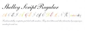 Shelly Script Regular Font