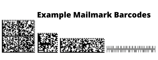 Example Mailmark Barcodes